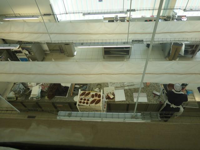 L'atelier chocolaterie...
