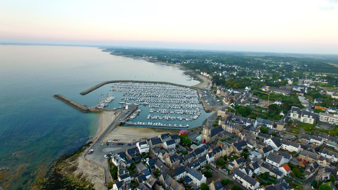 Port d Piriac Vue du Ciel