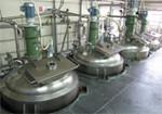 スープ生産工程の一部です