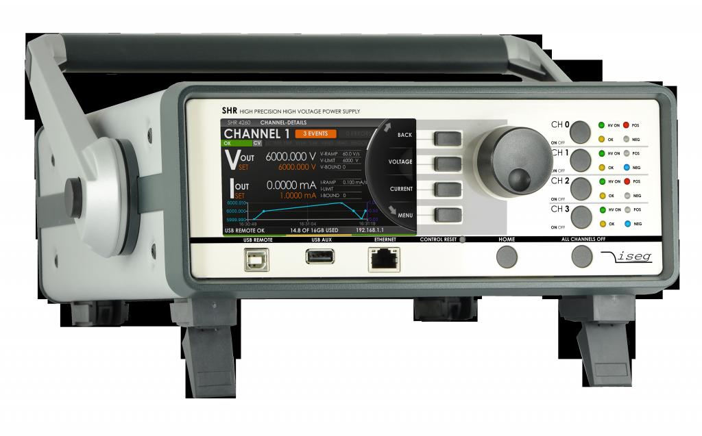 High Precision AC/DC Desktop HV Source-Measure-Unit