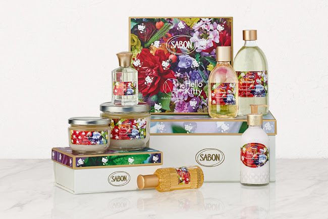 SABON『FLORAL BLOOMING Limited Collection』パチュリ・ラベンダー・バニラ