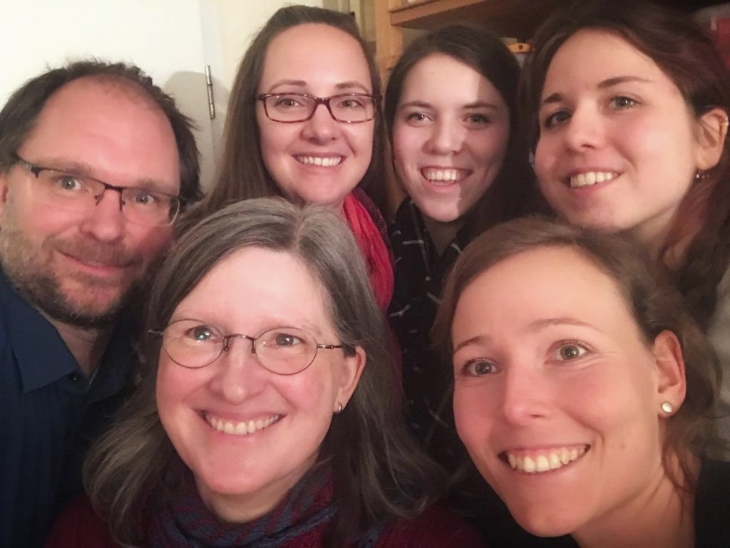 Das sind wir! (v.l. Stephan, Ulrike, Franziska, Annika, Karoline und Lis)