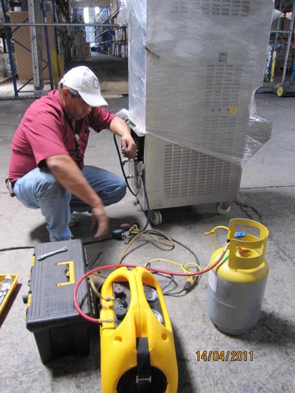 Recuperador de gas agotador del ozono, Heredia (2011)