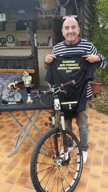 Notre ami JOJO est le nouveau champion Midi-Pyrénées Sapeur Pompier 2017... Encore BRAVO!!!