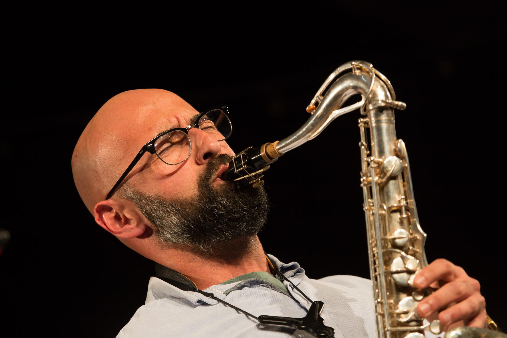 Coco Guerra, saxophon