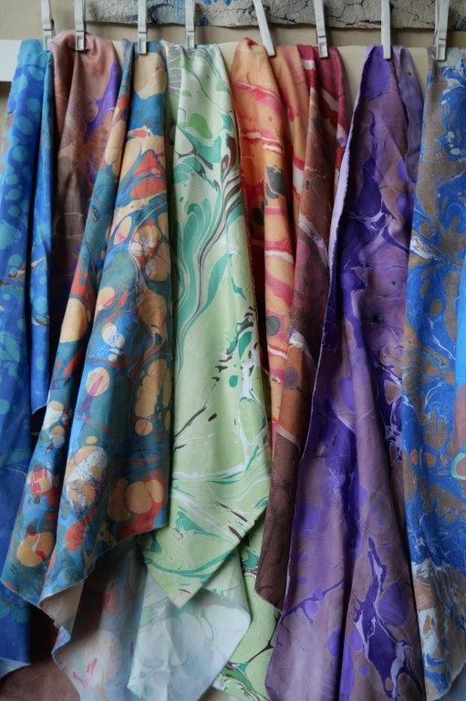 Herstellung von Wassergrafiken auf Textil Auf der Basis