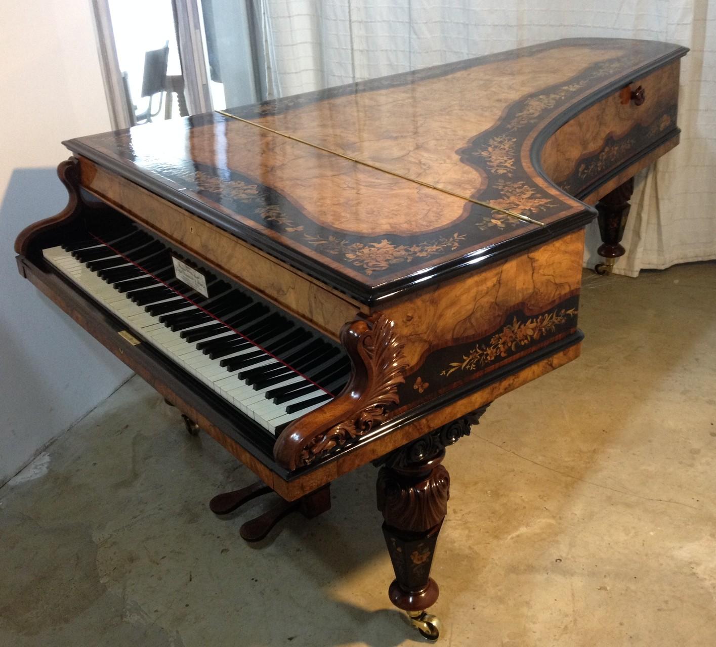 3 mois de restauration pour ce magnifique piano