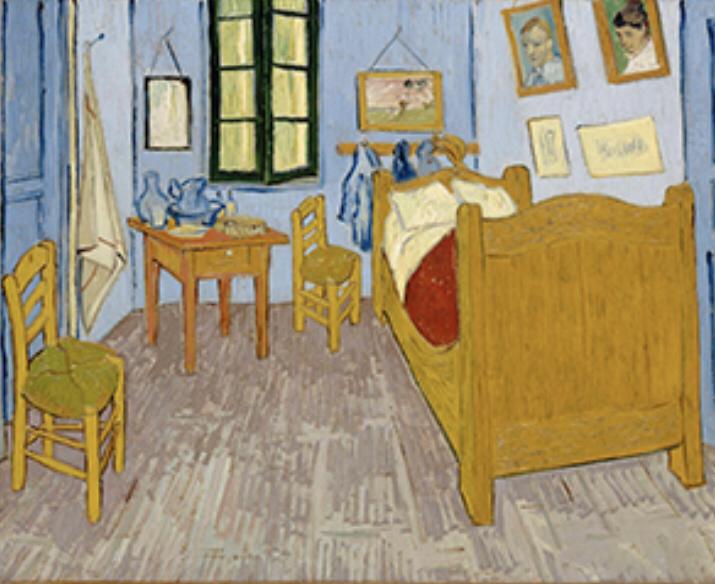 1・ピカソ アルルのの寝室