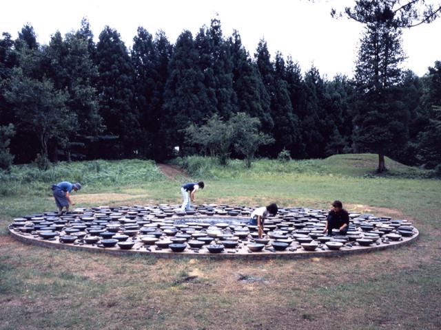 土の音 越後妻有アートトリエンナーレ2003 photo credit Shigeo Anzai