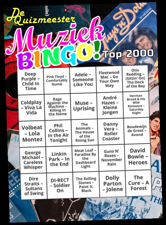 Muziekbingo Top 2000