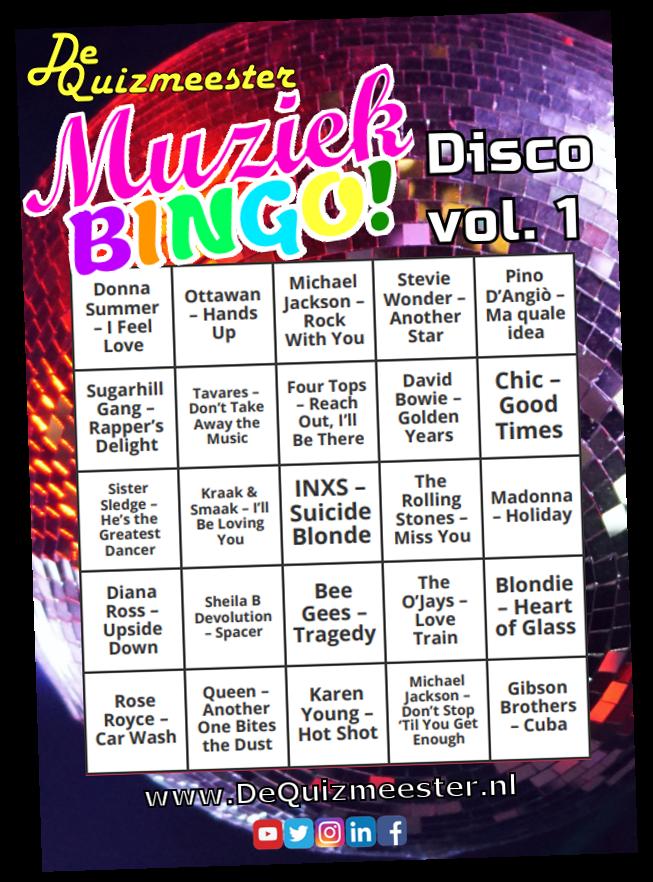 Muziekbingo Disco