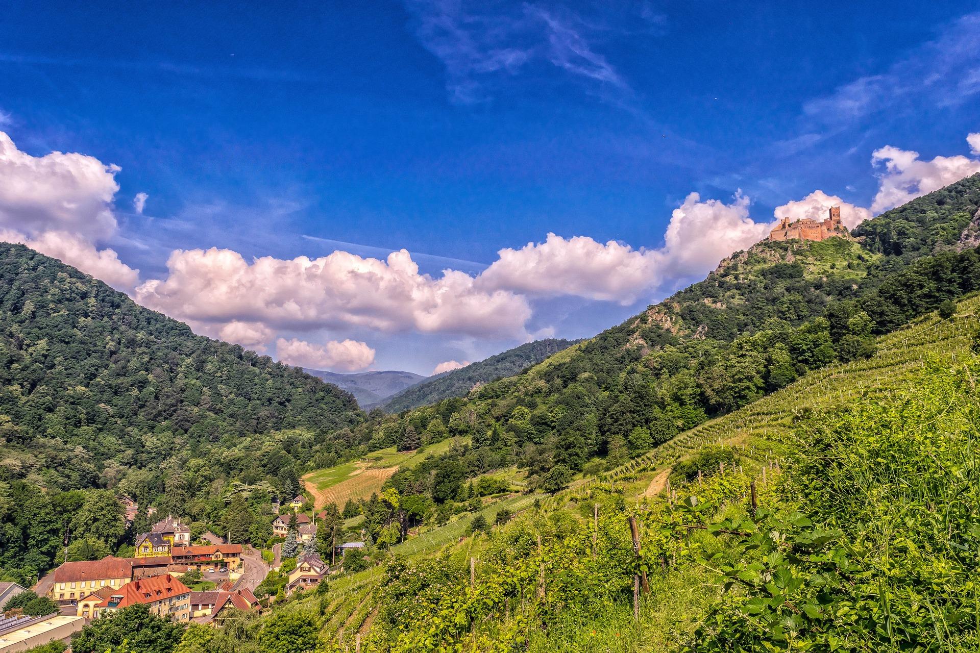 Randonnée sur les Sommet Alsace-Vosges