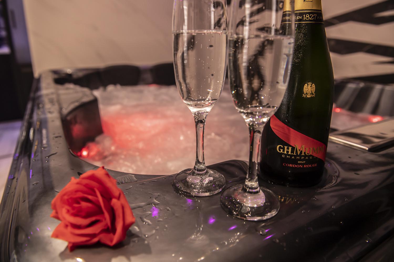 champagne séjour romantique
