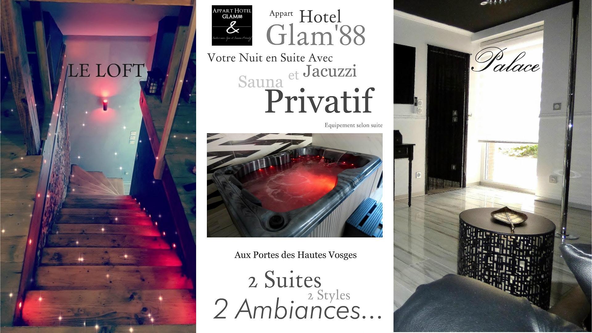 Appart Hotel GLAM88 Vosges Meublé de tourisme 5 etoiles vosges