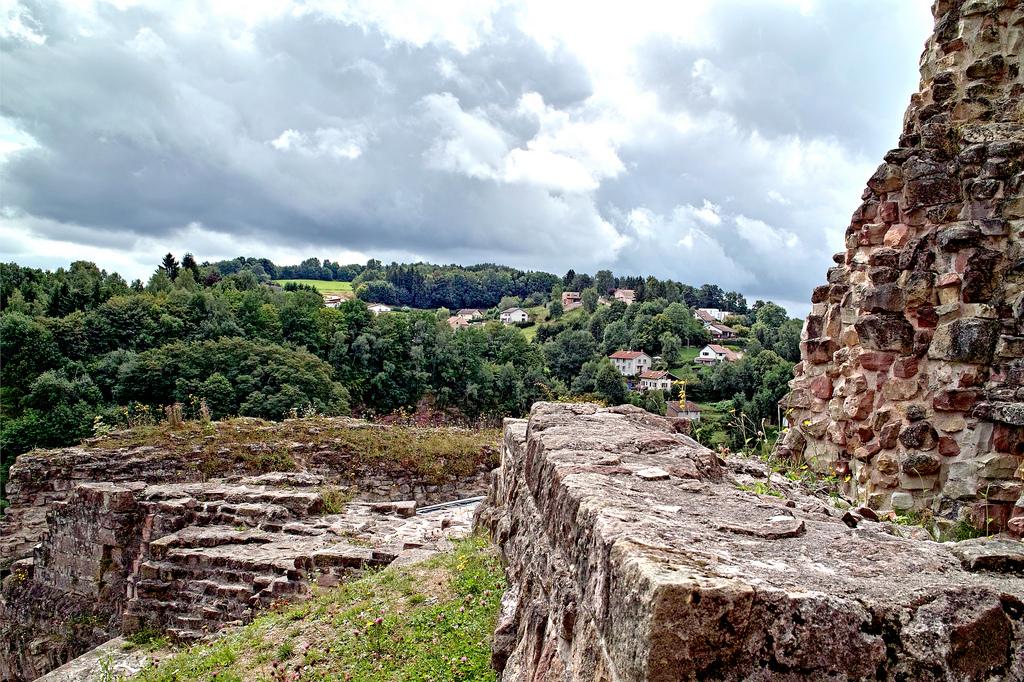 découverte du chateau d'épinal et son parc lors d'un week-end dans le 88