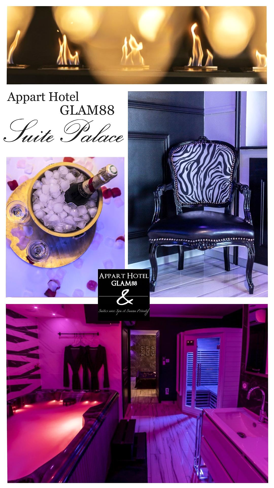 Suite Romantique Palace du Glam88