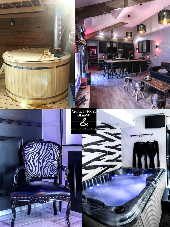 appart hotel spa- jacuzzi - sauna privé Vosges