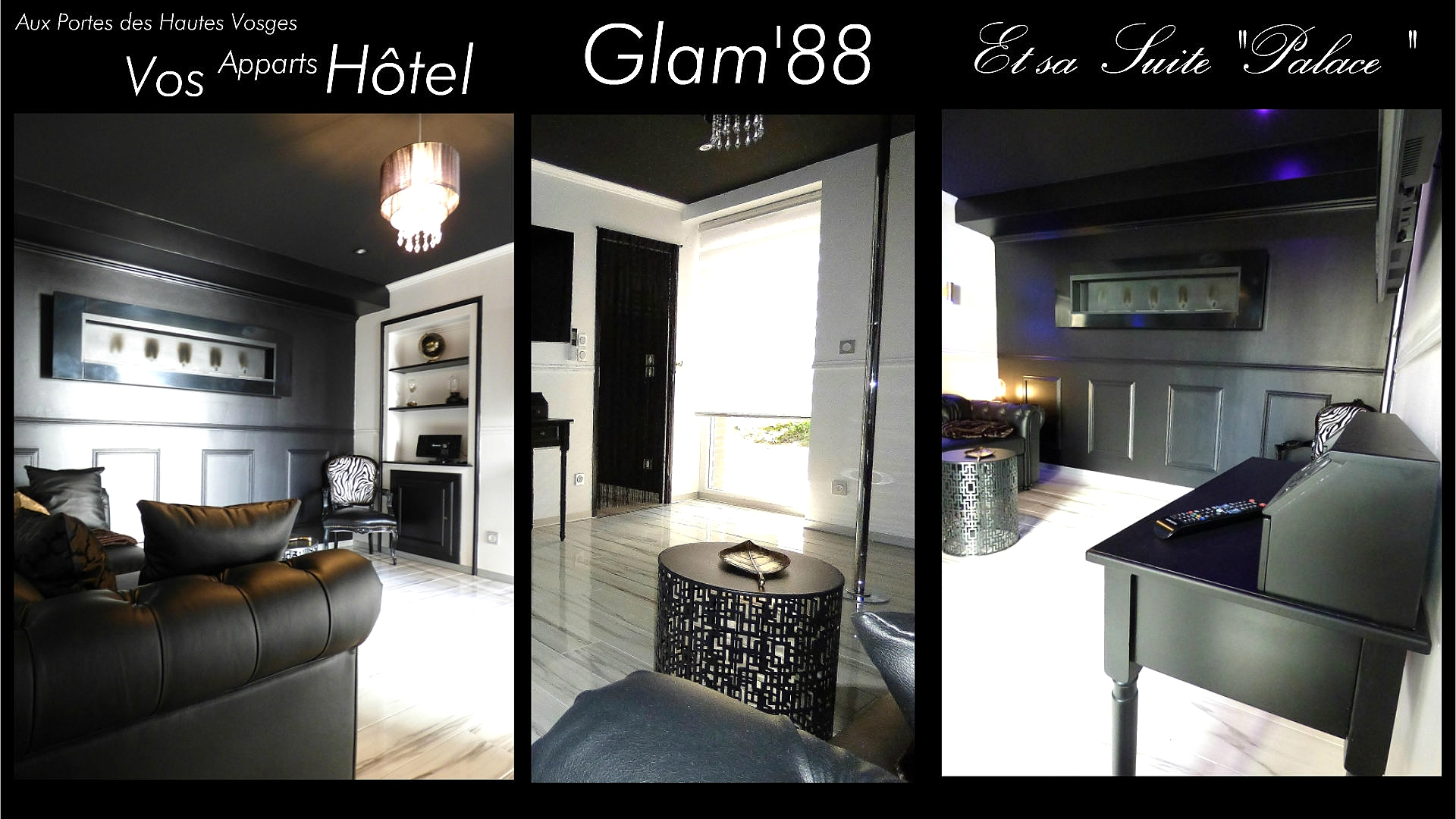 Nuit Gite Spa Sauna Appart Hotel Spa Glam88