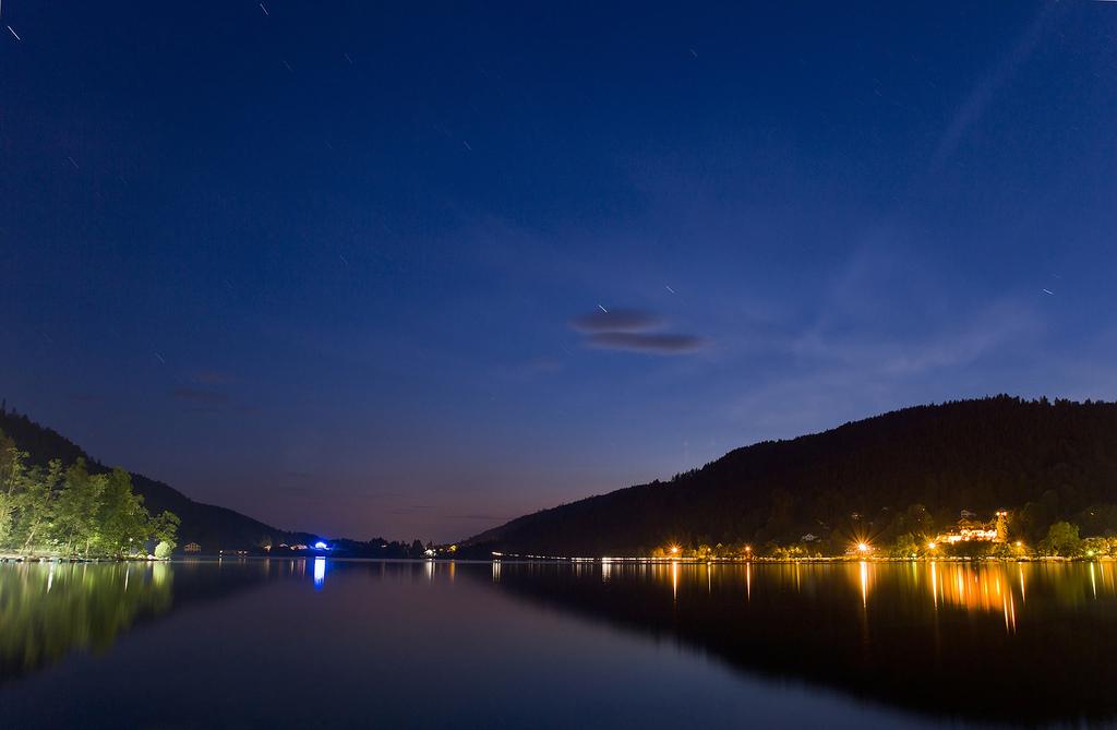 Soirée et Nuit au Lac de Gérardmer