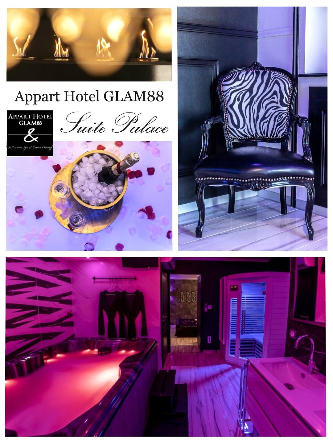 un week-end Bed and Spa aux apparts Hotel Glam88 Remiremont