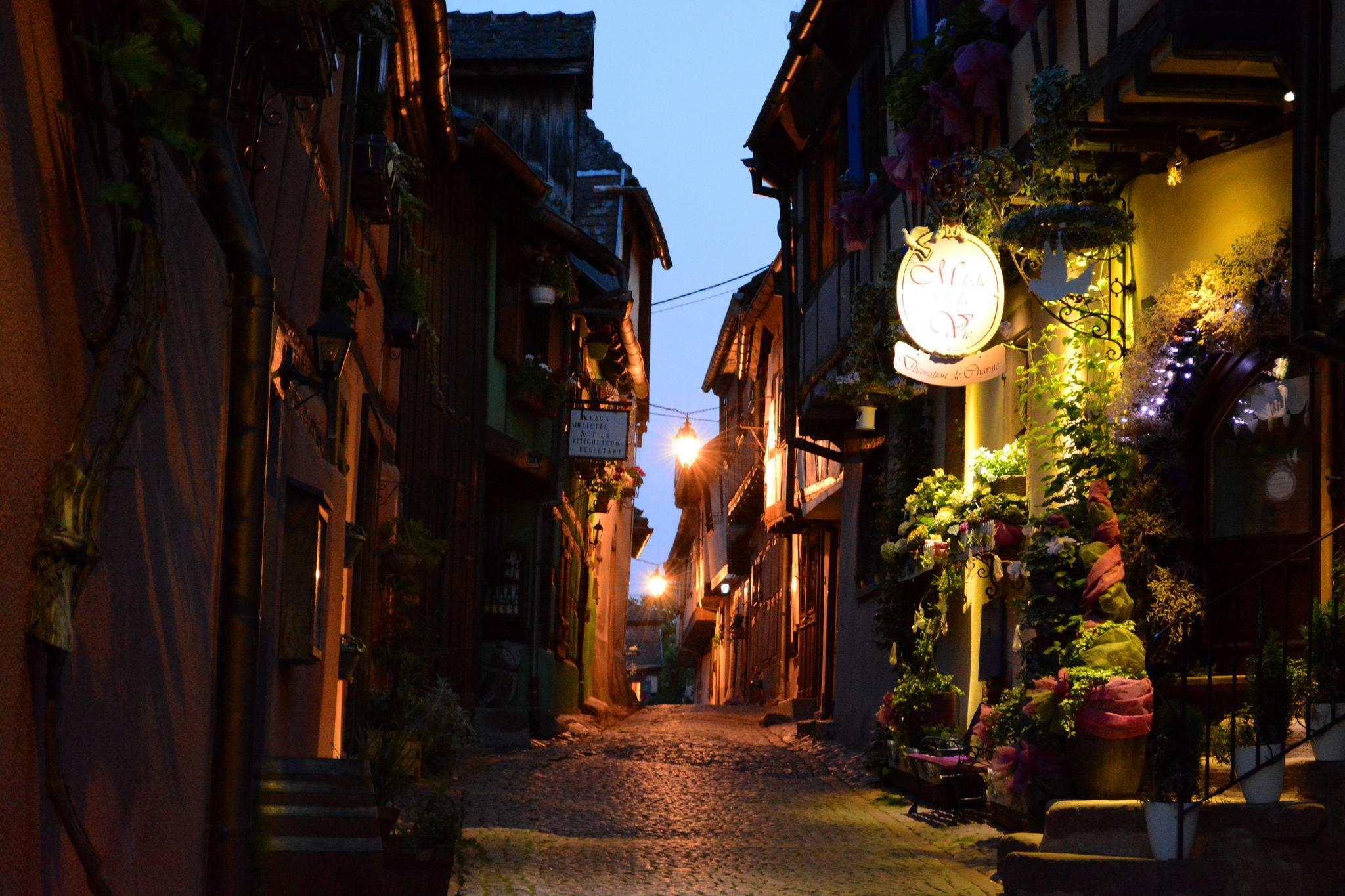 Escapade en Alsace le village du Riquewihr un des plus beau de France