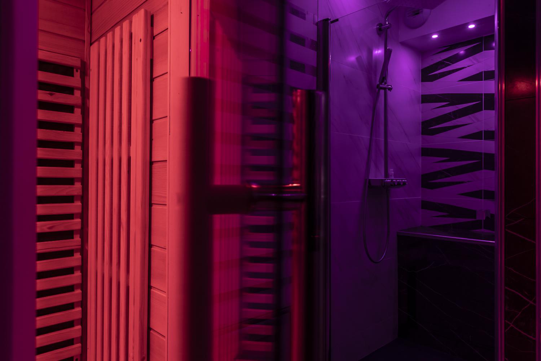 sauna privé en appart hotel grand est