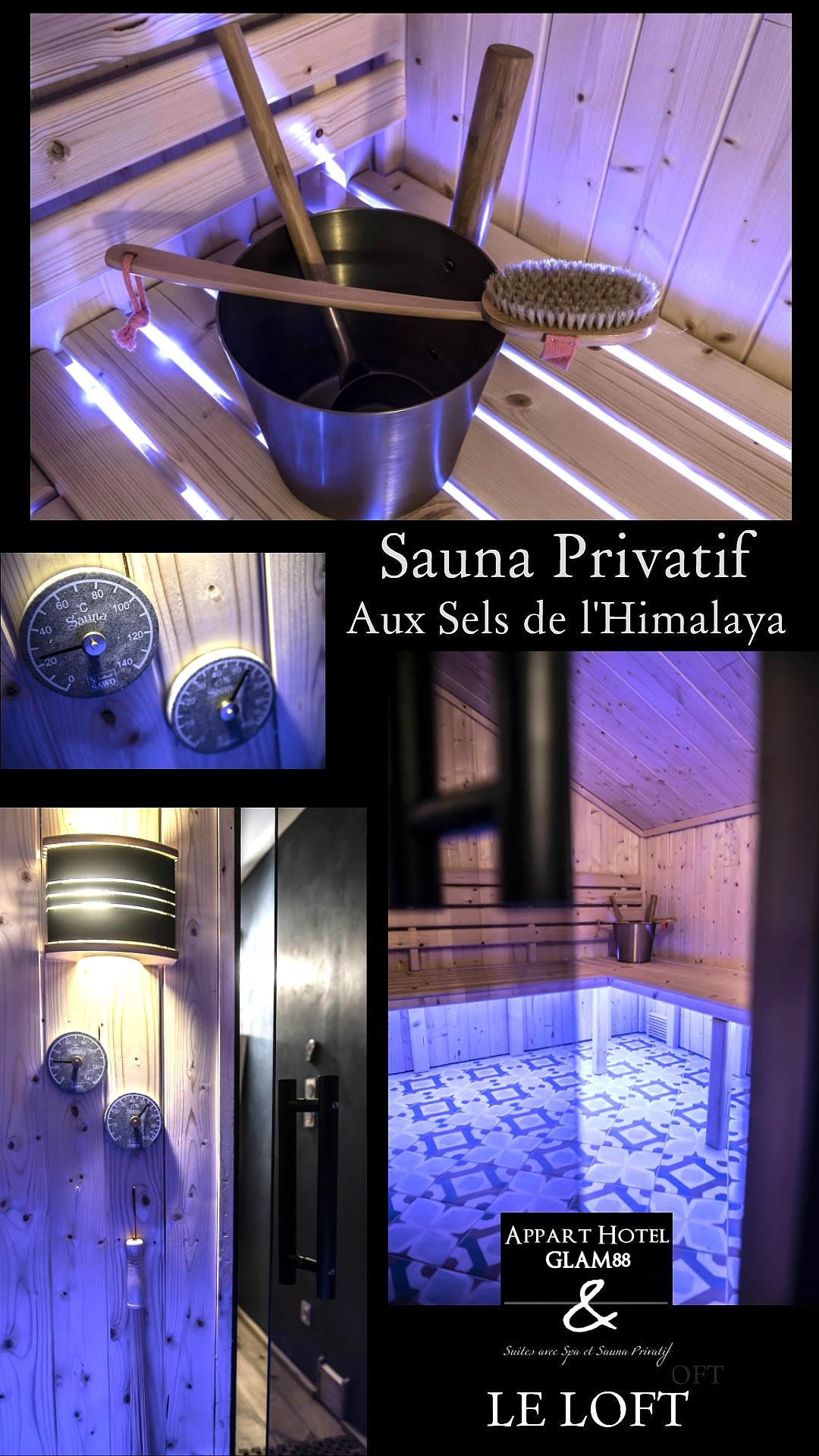 Gite avec Sauna Privé au Sel de L'Himalya - LE LOFT