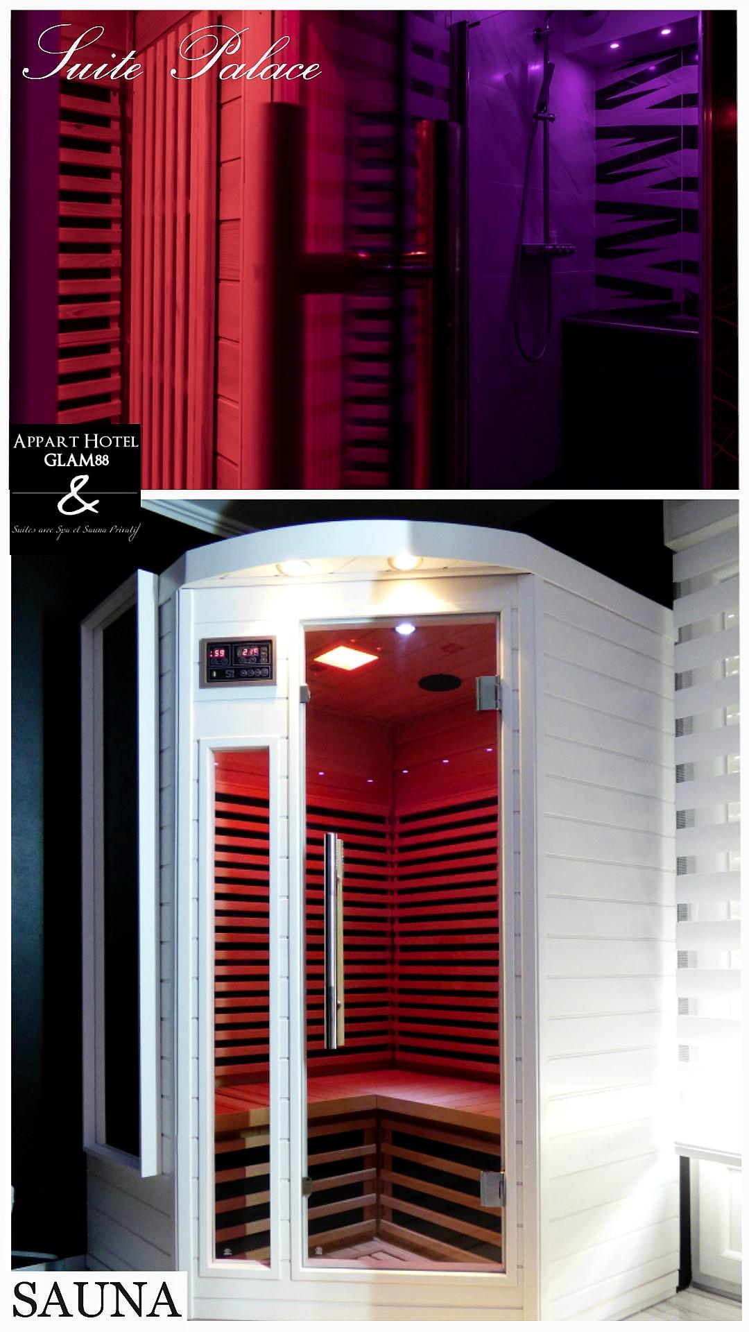 Sauna privé - Chambre en Appart Hotel Lorraine