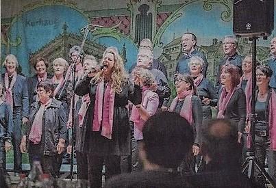 Der Gospelchor Heiden trug zur gelungenen Unterhaltung anlässlich der 125-Jahr-Feier des Gewerbe und Handwerkervereins Heiden bei.