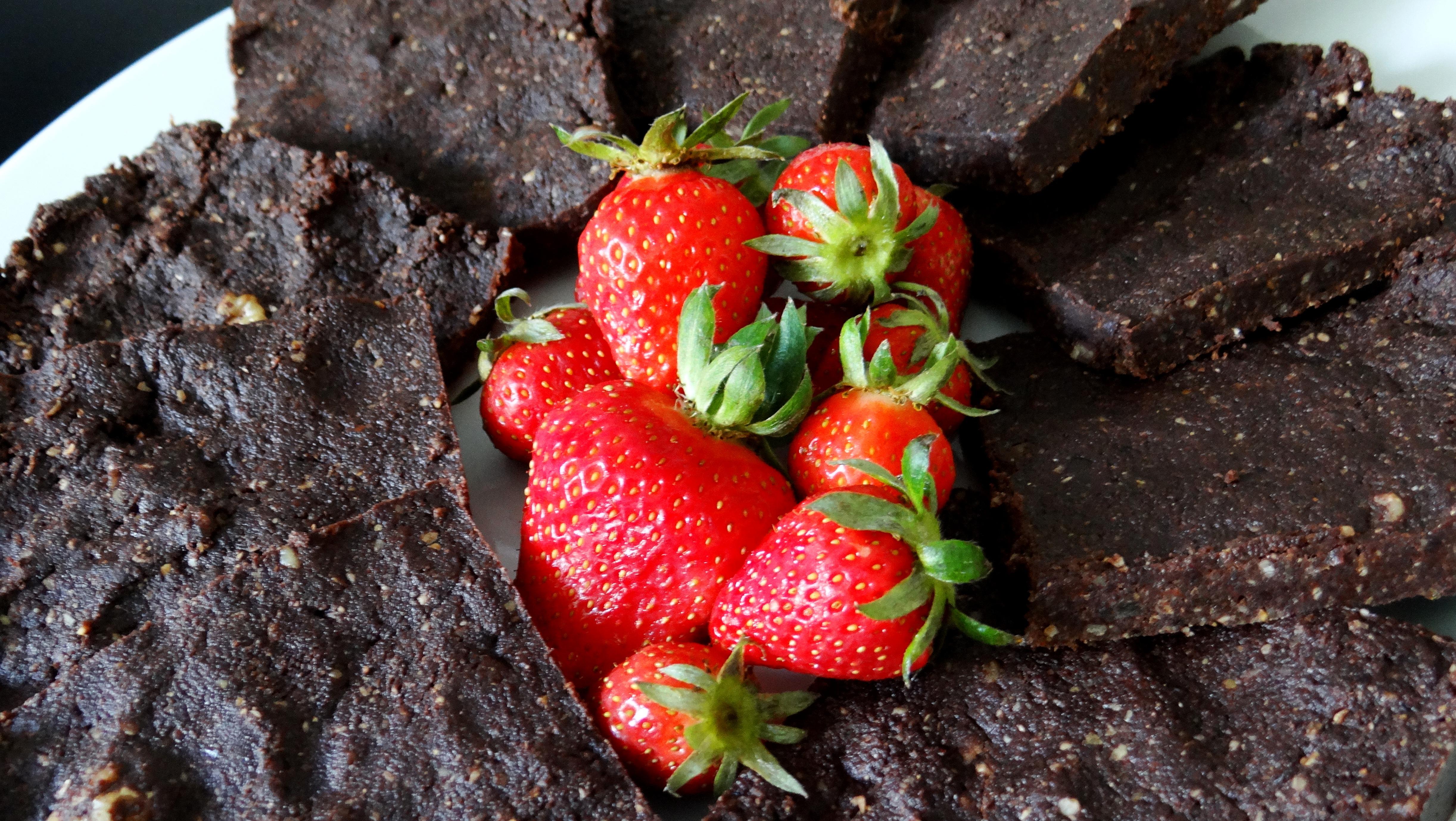 Rohkost-Brownies - fairani