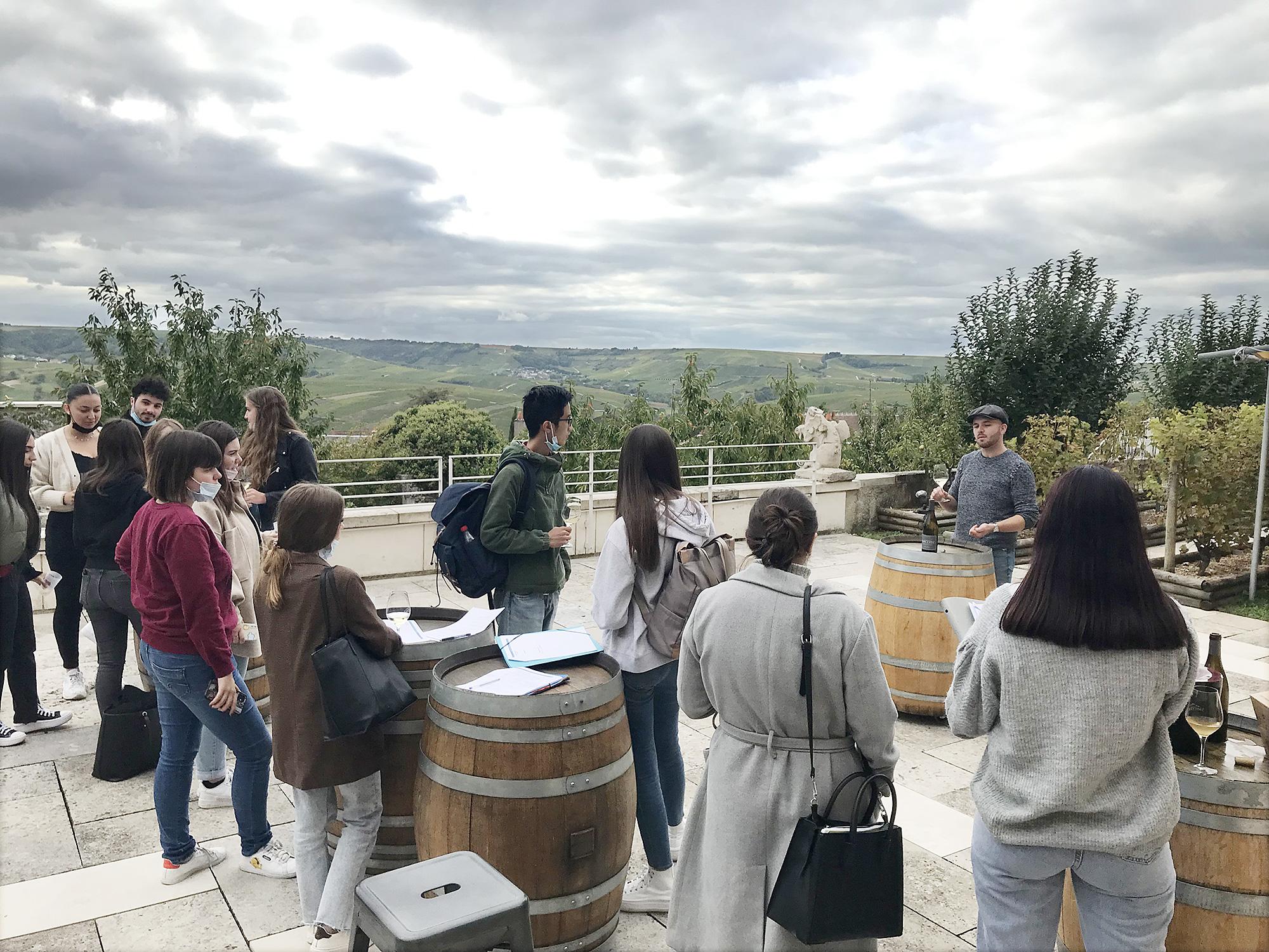 IES SAINTE-MARIE : Visite de  la « Maison des Sancerre », pour les étudiants du BTS Tourisme 1re année (7 octobre 2021)
