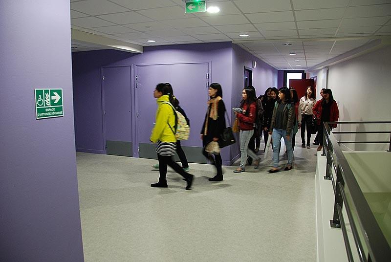 IES Sainte-Marie | Les étudiantes taîwanaises découvrent l'établissement