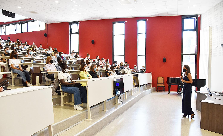 ESBC : La rentrée des étudiants de BTS 1re année à l'IES SAINTE-MARIE (Jeudi 2 septembre 2021 à 14h30)