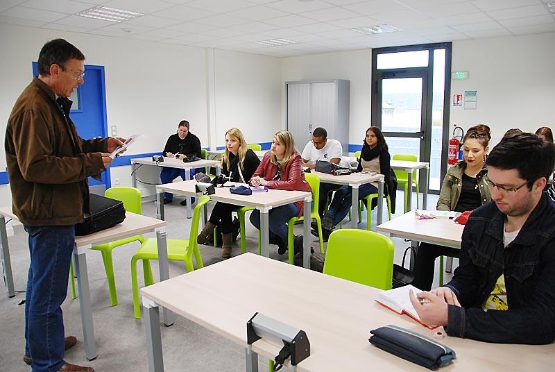 IES Sainte-Marie | Salle de classe (lundi 3 novembre 2014)