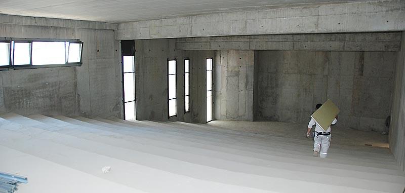 IES Sainte-Marie | Le futur amphithéâtre (17 avril 2014)