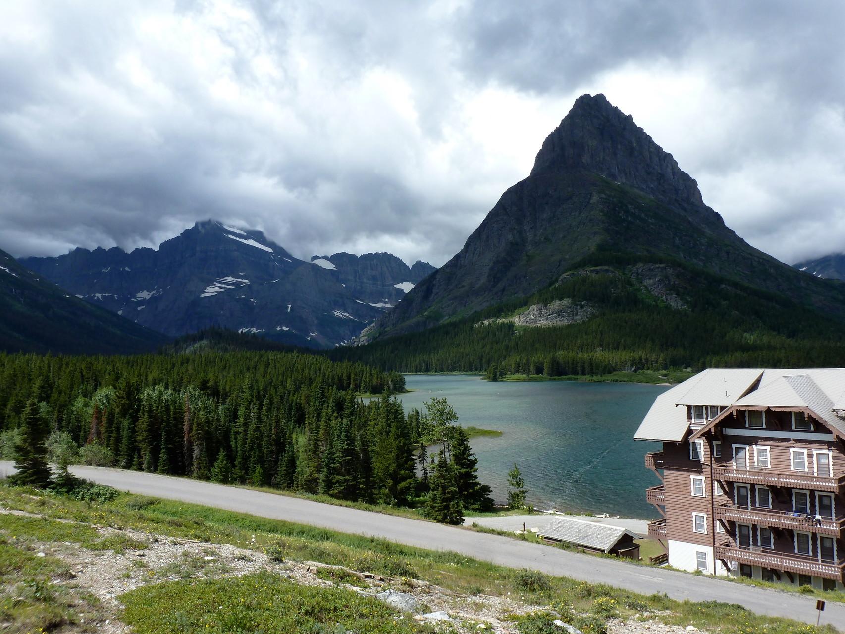 Many Glacier Hotel- looks beautiful...
