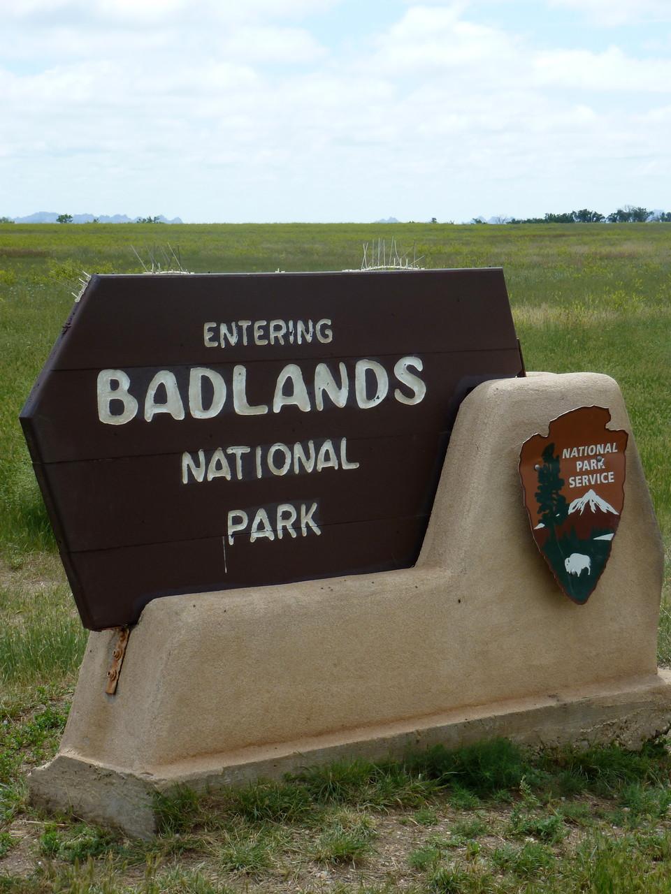Beautiful Badlands in Western SD!