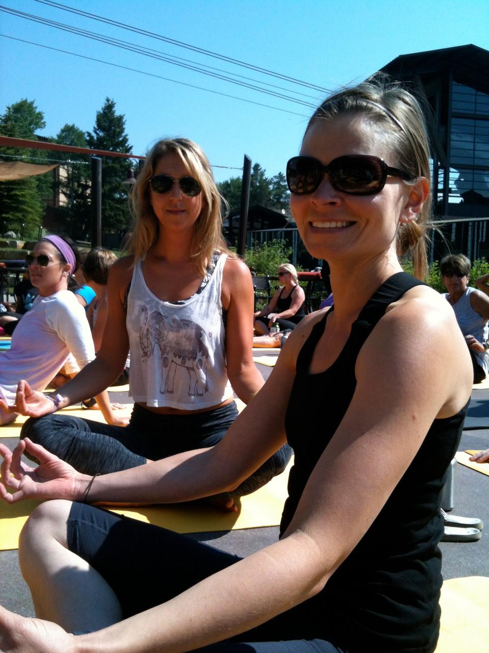Yoga in Teton Village