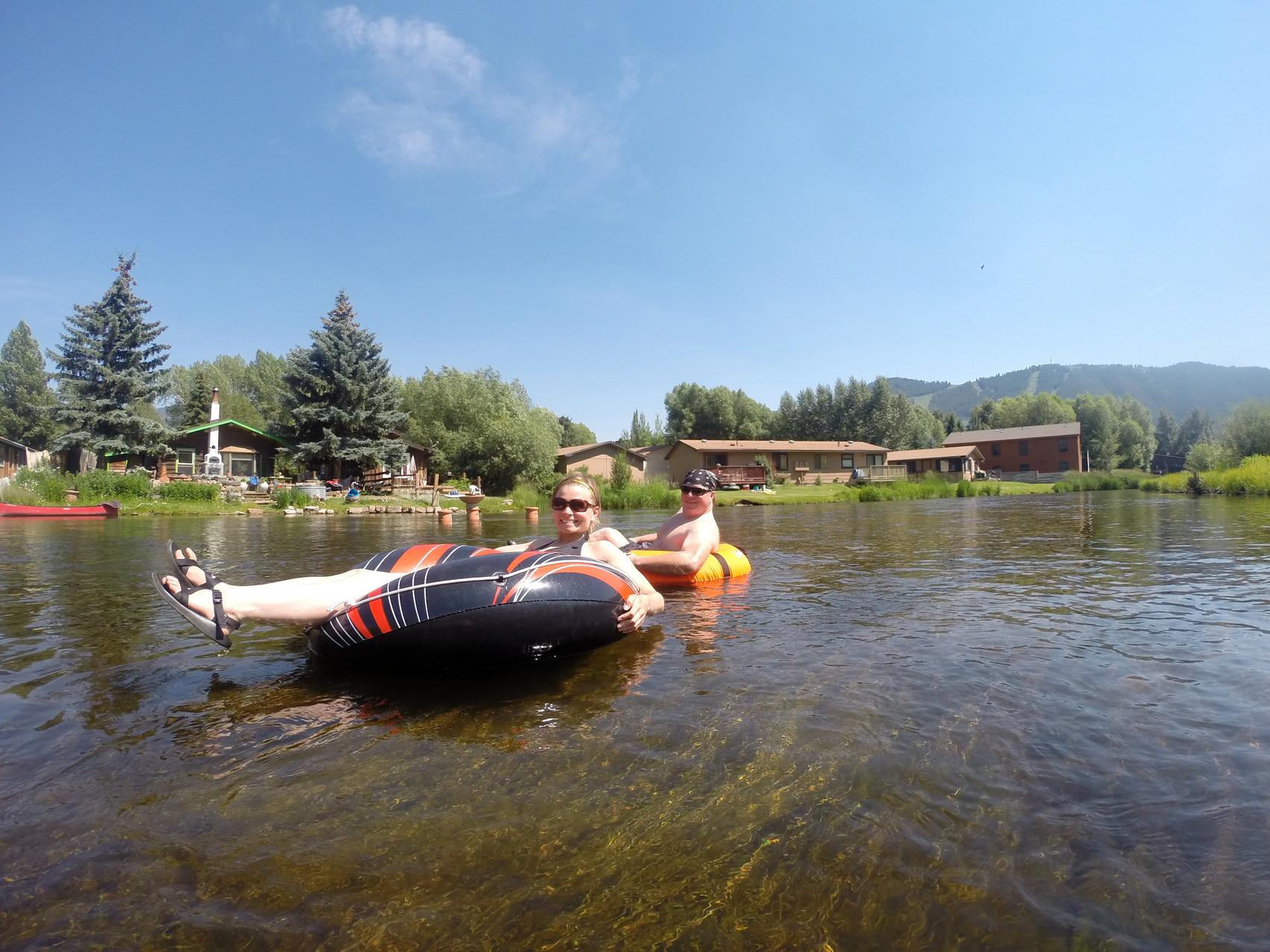 Floating Flat Creek