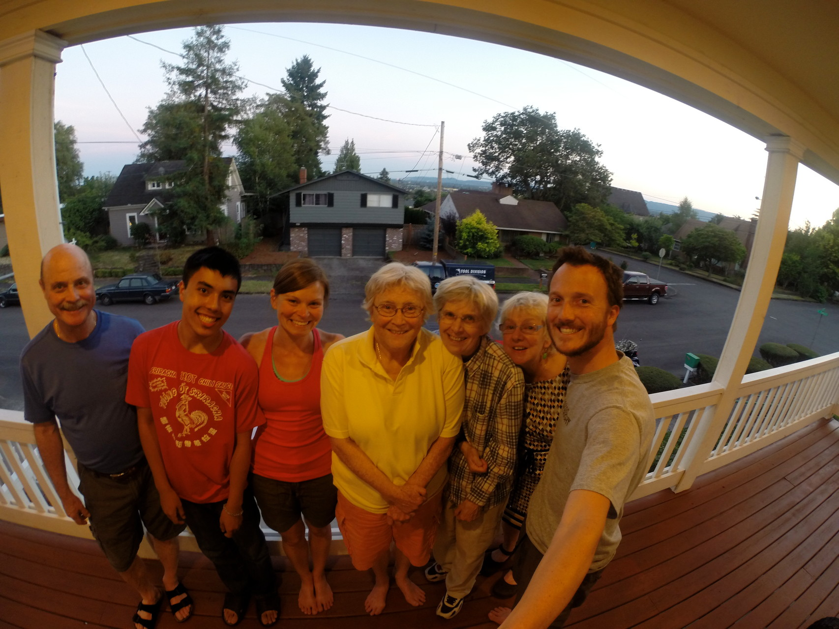 A bit further south in Vancouver, WA- Jay's Aunt, Uncle & Cousins