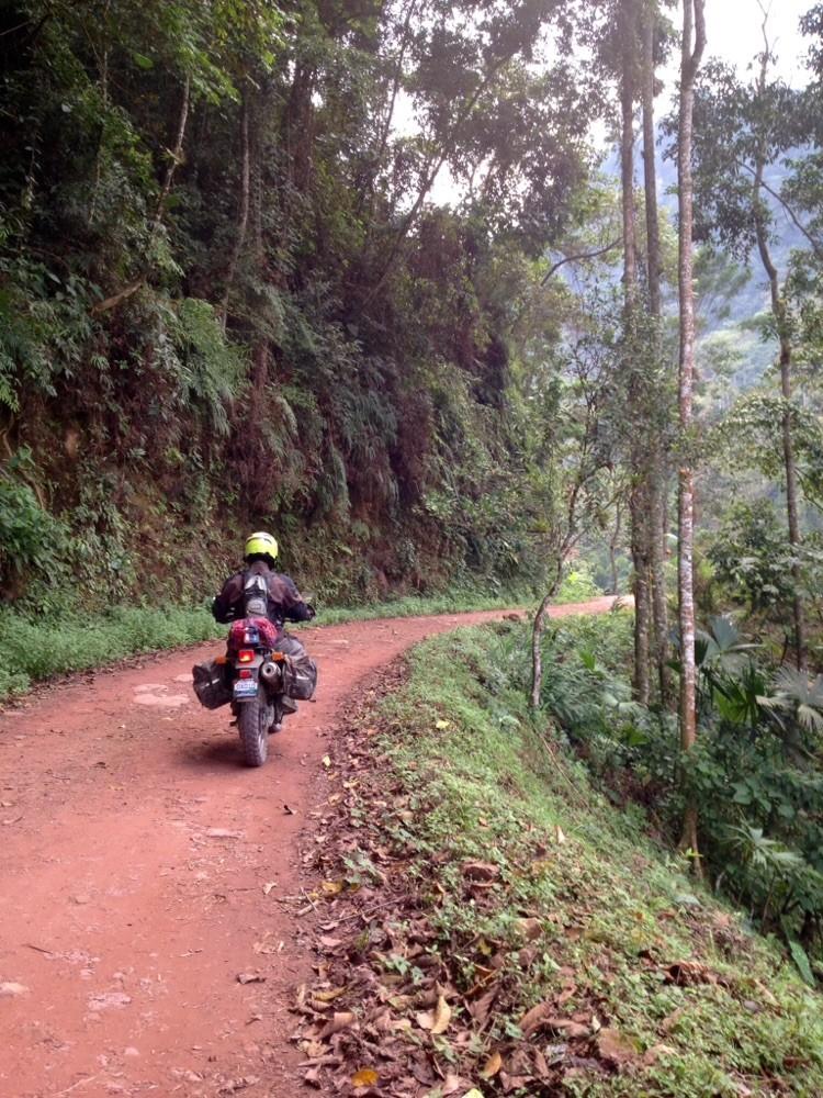 Riding off into the splendor