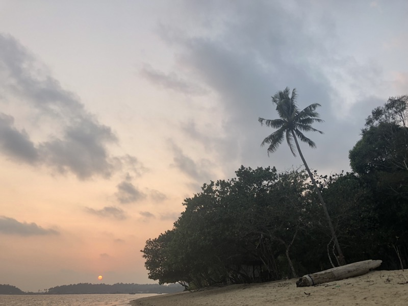 Sunset in Koh Chang, Thailand