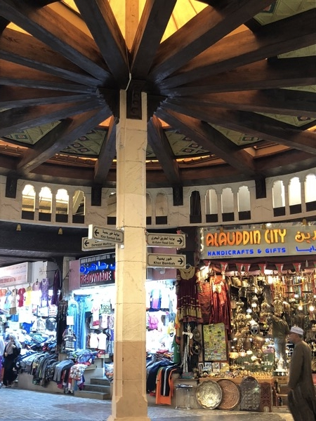 Inside the old souk in Muscat, Oman