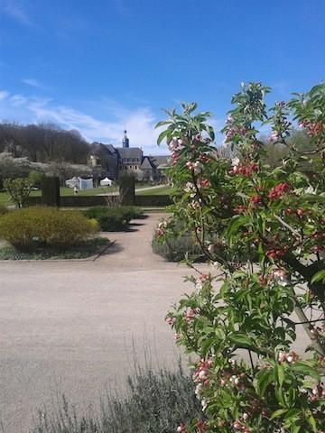 Valloires & its garden