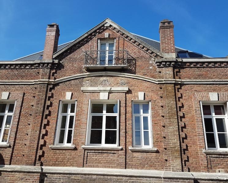 la façade du Balcon en B
