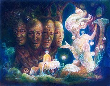 Les élémentaux : alliés des âmes extrasensorielles