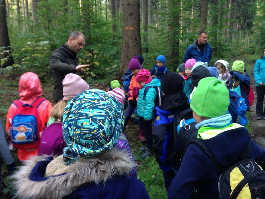 Wandertag mit Herrn Forgber und Drachensteigen auf dem Taubenberg