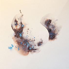 Essence de trois poires - 60x60cm - 2016