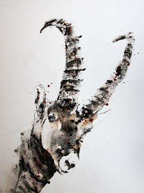 Esprit de chamois - 80x60cm - 2016
