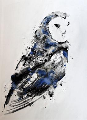 Esprit d'Oiseau de Proie - 80x60cm - 2016